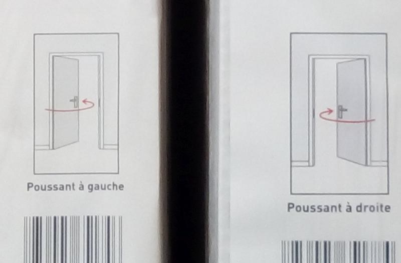 Poussant Gauche Et Poussant Droit